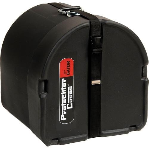 """Gator Cases GP-PC1412 Classic Protechtor Tom Drum Case (14 x 12"""", Black)"""