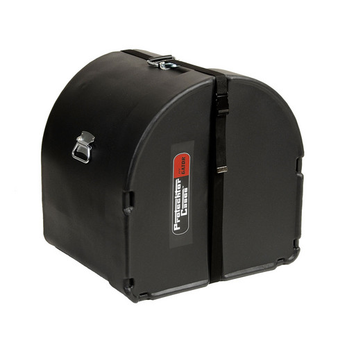 """Gator Cases GP-PC1816BD Classic Bass Drum Protechtor Case for a 18 x 16"""" Drum (Black)"""