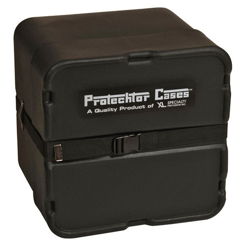 Gator Cases GP-PC219 Classic Marching Snare Drum Protechtor Case (Larger Size, Black)