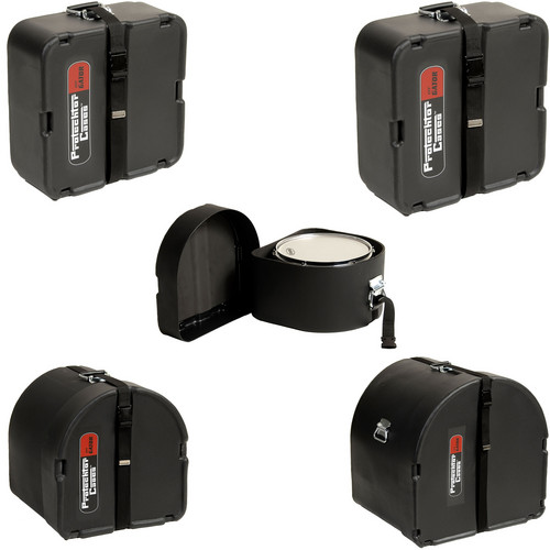 "Gator Cases GP-PCFUSION22 5 Piece Classic Series Protechtor Case Set (22"" Bass, Black)"