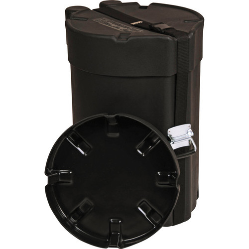 "Gator Cases GP-PE12C23 Molded Combo Drum Protechtor Case; Elite Air Series (12 x 23"", Black)"
