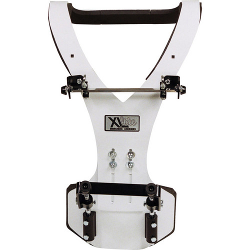 Gator Cases GP-XLC-DBD1 Protechtor Series: Aluminum Vest Deluxe Bass Drum Carrier (White)