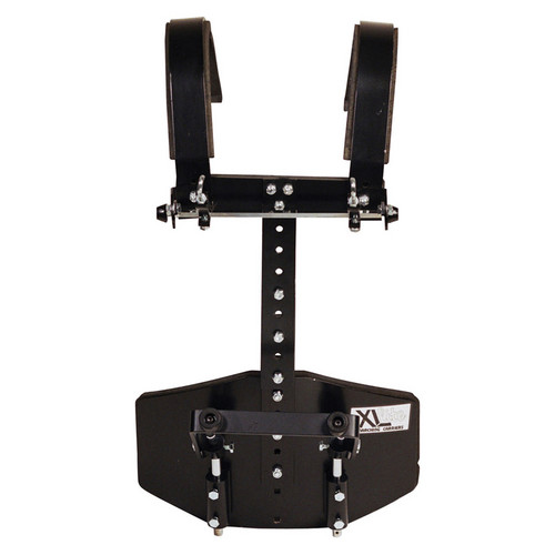 Gator Cases GP-XLC-DBD2 Protechtor Series: T-Bar Vest Deluxe Bass Drum Carrier (Black)