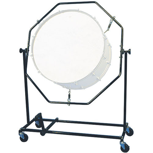 Gator Cases GP-XLSSUSBST-FR Suspended Bass Drum Stand Foot Rest ONLY (Black)