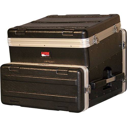 Gator Cases GRC-10X4 Slant Top Console Rack Case
