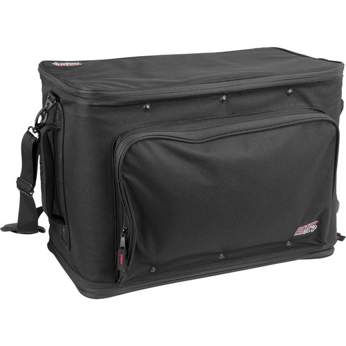 Gator Cases 4U Lightweight Rolling Rack Bag (Black)