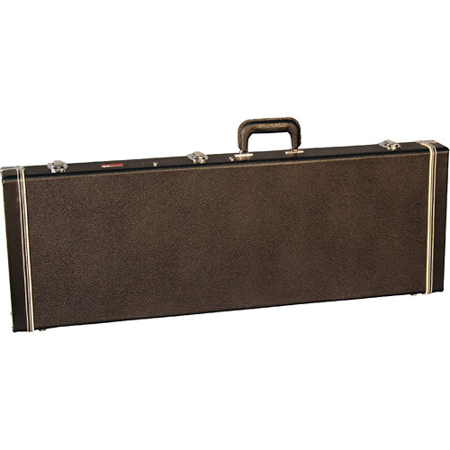 Gator Cases Deluxe Wood Case for Jaguar, Jagmaster and Jazzmaster Style Guitars