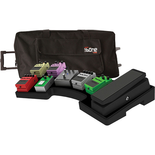 Gator Cases Mega Bone Pedalboard with Rolling Bag and Power Supply