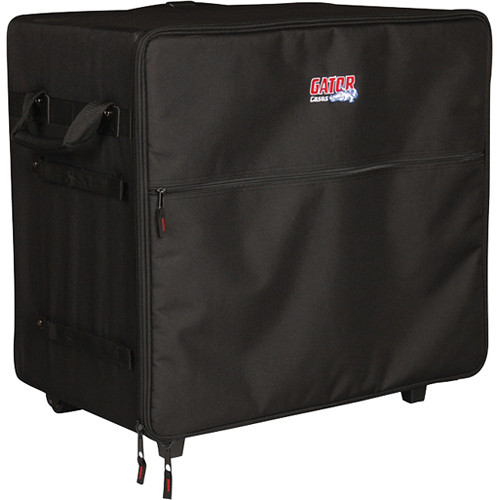 """Gator Cases G-PA TRANSPORT-SM Case for Smaller """"Passport"""" Type PA Systems (Black)"""