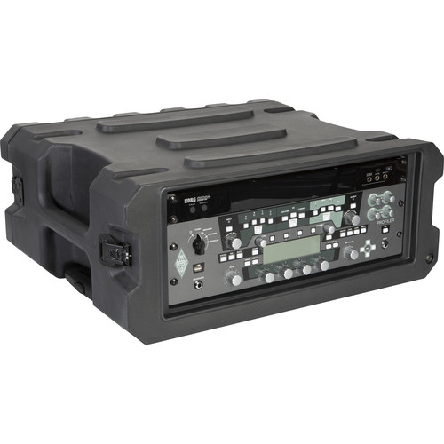 "Gator Cases Pro-Series Roto-molded 4U 19.25"" Deep Rack Case"