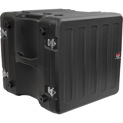 Gator Cases G-PRO-10U-19 10-Space Rotationally Molded Rack Case