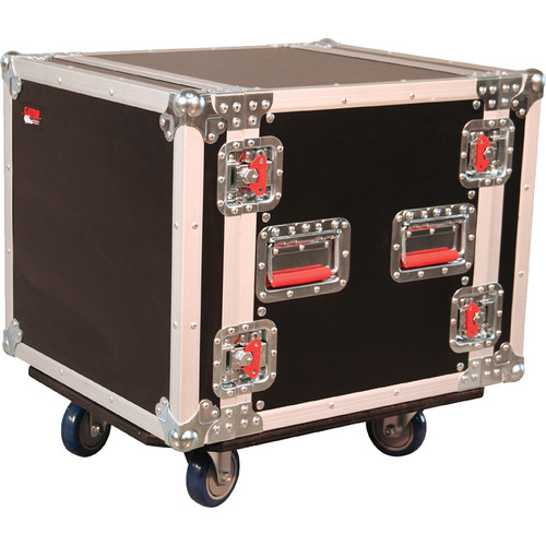 Gator Cases G-Tour 10U Cast Wheeled Rack Case
