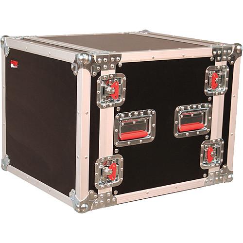 Gator Cases G-TOUR 10U Cast 10U, Standard Audio Road Rack with Casters (Black)