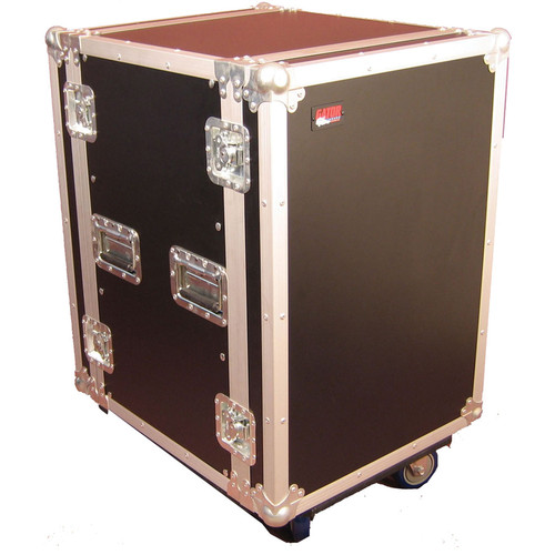 Gator Cases G-Tour 16U Cast Wheeled Rack Case