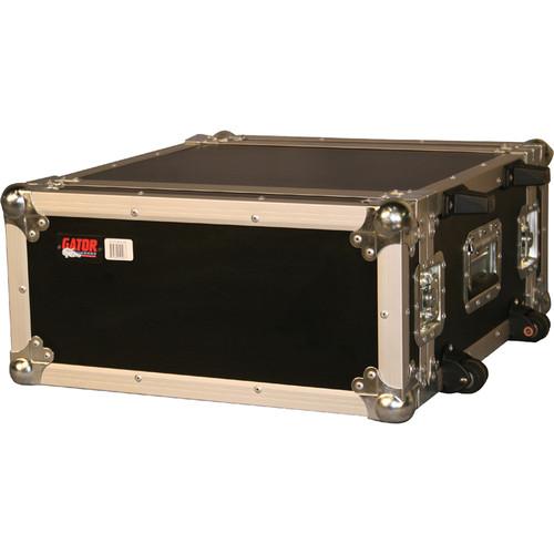 Gator Cases G-Tour 4UW Tour Style ATA Flight Rack Case with Wheels