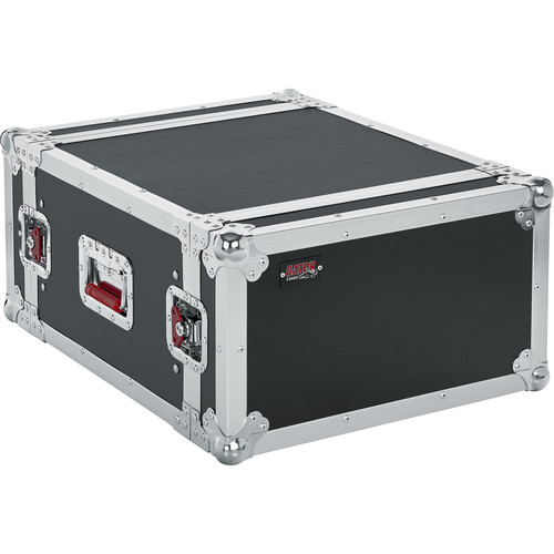 Gator Cases G-Tour 6U Flight Rack Case