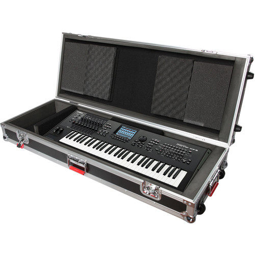 Gator Cases G-TOUR 88V2 88 Note Road Case with Wheels (Black)
