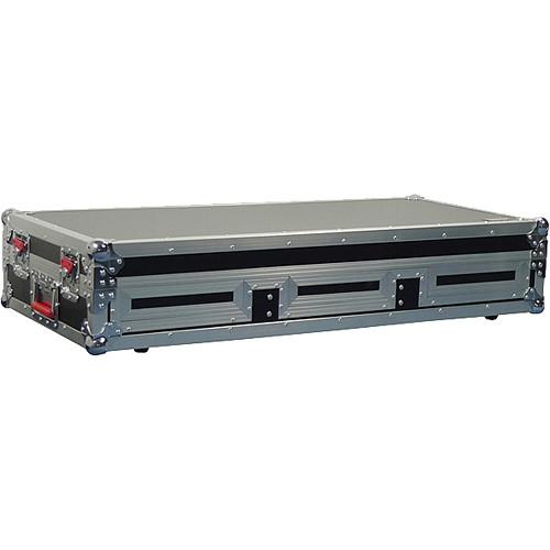 "Gator Cases G-TOUR COF-SMCD12-ARM1-PL Small Coffin Case with DJARM; 12"" Mixer Section (Black)"
