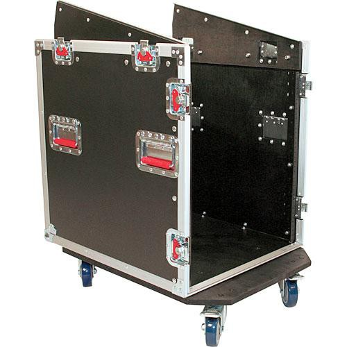 Gator Cases G-TOUR GRC12x12 Slant Top Rack Console