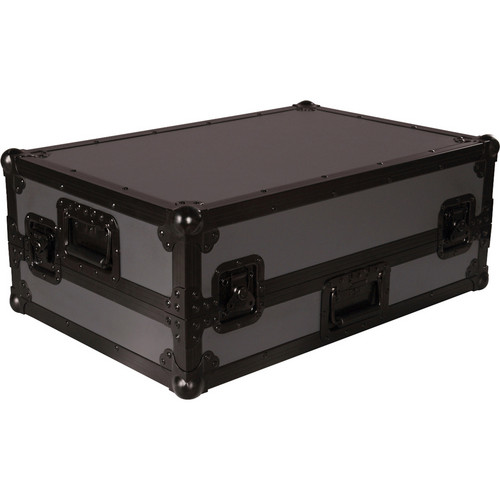 Gator Cases G-TOUR VMS4-ARM1-PL Case for American DJ VMS4 Controller with DJARM (Slate with Black Hardware)