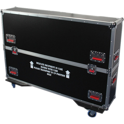 """Gator Cases G-Tour ATA Case For 2 60 To 65"""" LED/LCD/Plasma Screens"""