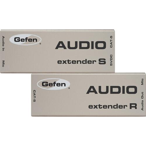Gefen AUD-1000 Analog Audio Extender, Sender With Receiver