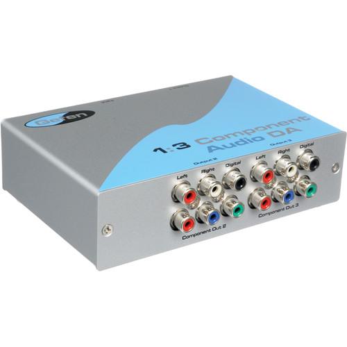 Gefen COMPAUD-143 1:3 Component Video & Audio Distribution Amplifier