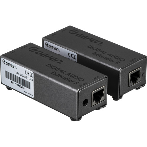 Gefen Digital Audio Extender S/PDIF or TOSLink Sender With Receiver