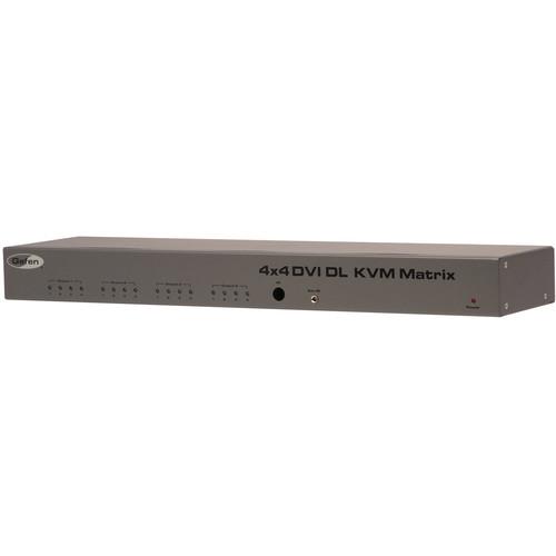 Gefen 4x4 DVI KVM Dual-Link Switcher