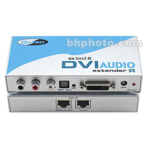 Gefen DVI Audio Extender (HDMI / DVI, Audio) Sender + Receiver