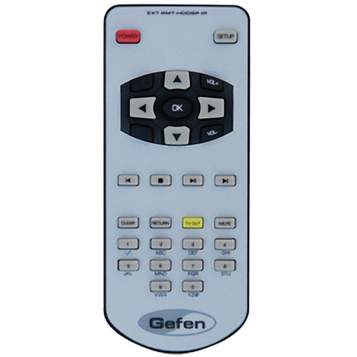 Gefen EXT-RMT-HDDSP-IR IR Remote for HD Digital Signage Player