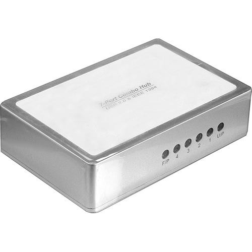 Gefen 3-Port FireWire-400 and 4-Port USB 2.0 Hub