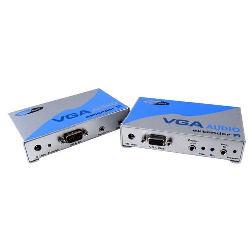 Gefen VGA-AUDIO-141 VGA Video & Audio Serial Extender, Sender With Receiver