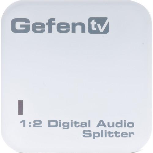 Gefen GTV-DIGAUD-142 GefenTV Digital Audio Splitter 1:2