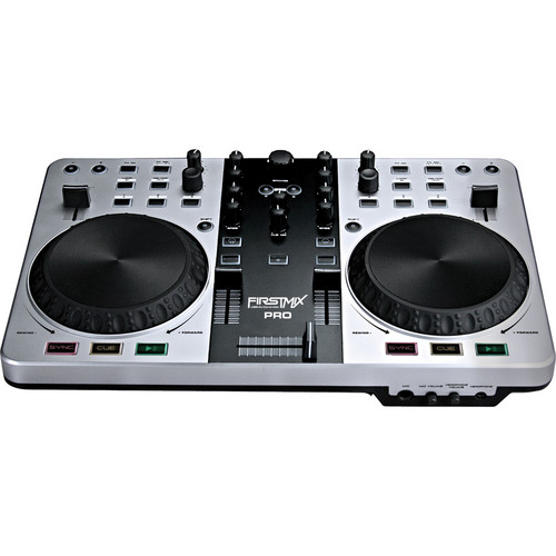 Gemini FirstMix Pro USB MIDI DJ Controller with Soundcard