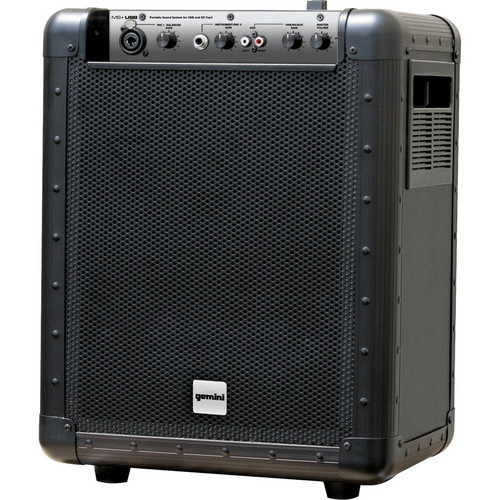 Gemini MS-USB Portable PA System with USB Input
