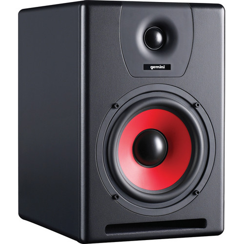 "Gemini SR-8 125W 8"" 2-Way Active Studio Monitor Speaker"