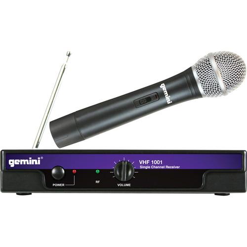Gemini VHF-1001M VHF Wireless Handheld Microphone System