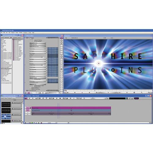 Genarts Sapphire for Avid Plug-In v3 (Single License)