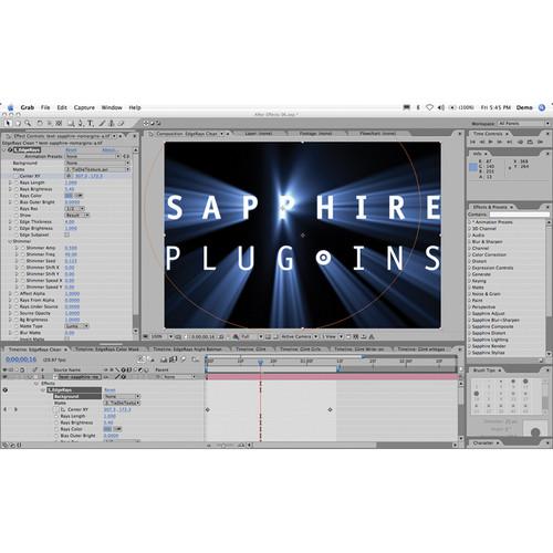 Genarts Sapphire for Apple FXPlug v2 (Single License)