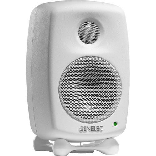 Genelec 6010A Bi-Amplified Nearfield Monitor Speaker (White)