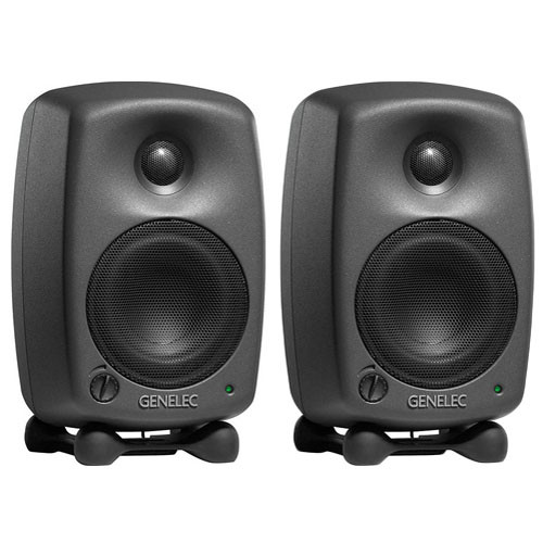 "Genelec 8020B 4"" Active 2-Way Nearfield Monitor (Black, Pair)"