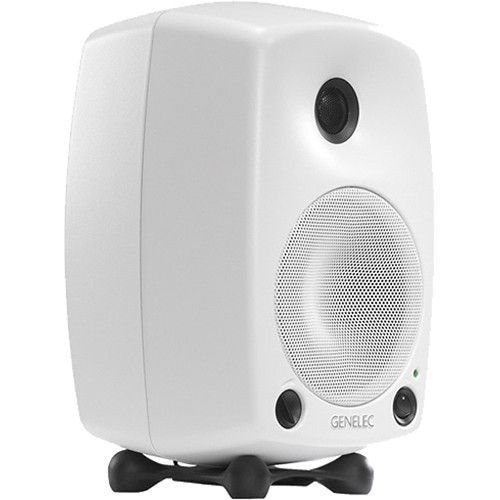 "Genelec 8030AW - 5"" 2-Way Active Nearfield Monitor(White)"