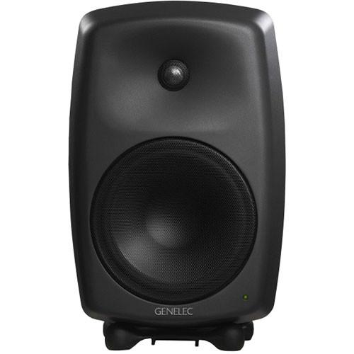 "Genelec 8250A 270W 8"" Active 2-Way DSP Monitor Speaker (Black)"
