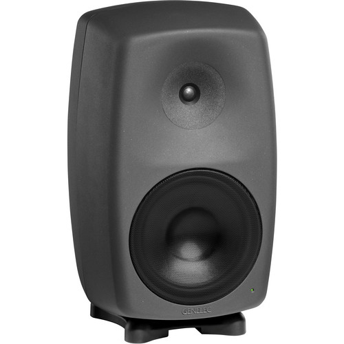 "Genelec 8260A 390W 10"" Active 3-Way Active Digital Monitor Speaker (Black)"