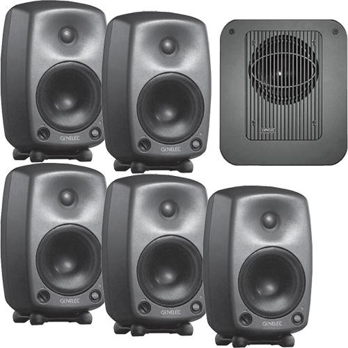 Genelec SE Power Pack 5 Digital 5.1 Surround Sound Monitoring System