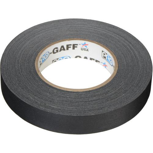"""ProTapes Pro Gaffer Tape (1"""" x 55 yd, Black)"""
