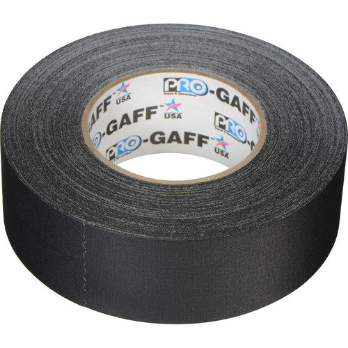 "ProTapes Pro Gaffer Tape - 2"" x 55 yd (Black)"