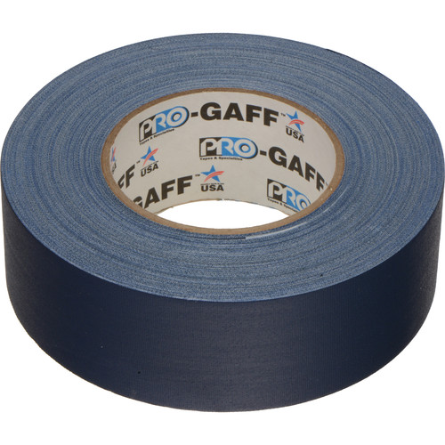 "ProTapes Pro Gaffer Tape - 2"" x 55 yd (Blue)"