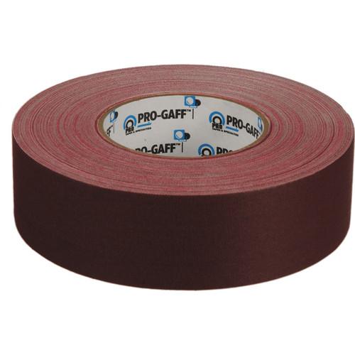 "ProTapes Pro Gaffer's Tape - 2.0"" x 55 Yards (Burgundy)"